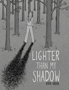 Jacket art for graphic novel Lighter Than My Shadow
