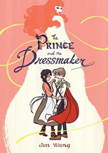 Jacket art for graphic novel The Prince and the Dressmaker