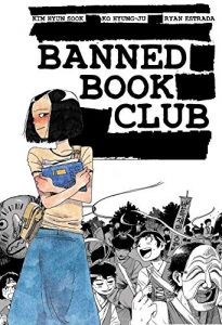 Jacket art for graphic novel Banned Book Club