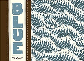 Jacket art for graphic novel Blue