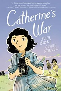 Jacket art for graphic novel Catherine's War
