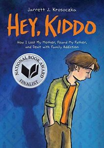Jacket art for graphic novel Hey Kiddo