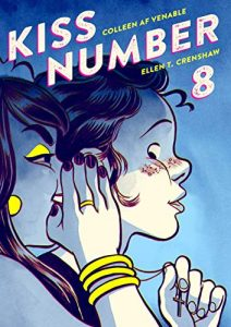 Jacket art for graphic novel Kiss Number 8