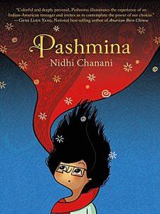 Jacket art for graphic novel Pashmina