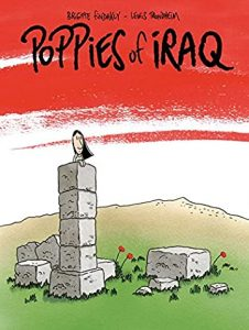 Jacket art for graphic novel Poppies of Iraq