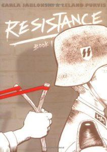 Jacket art for graphic novel Resistance Book 1