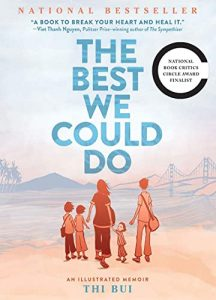 Jacket art for graphic novel The Best We Could Do