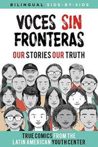 Jacket art for graphic novel Voces sin fronteras