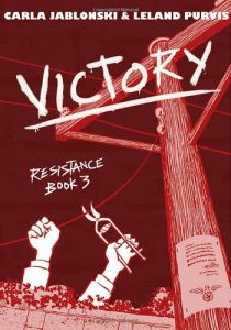 Jacket art for Victory Graphic Novel