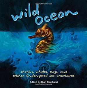Jacket art for graphic novel Wild Ocean
