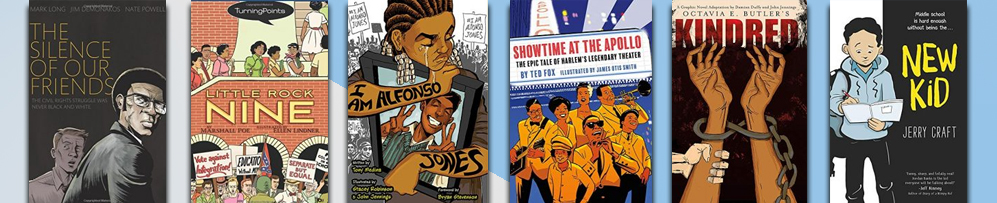 Six cbook overs from the Racism category
