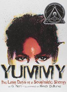 Jacket Art for graphic novel Yummy