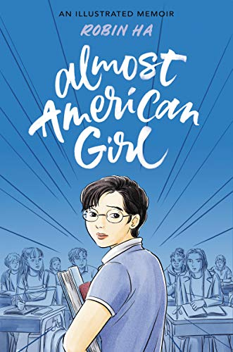 Jacket art for graphic novel Almost American Girl