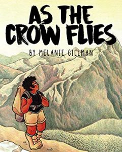 Jacket art for graphic novel As the Crow Flies