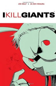 Jacket art of graphic novel I Kill Giants