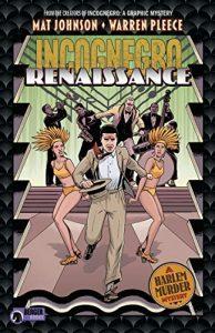 Jacket art for graphic novel Incognegro- Renaissance