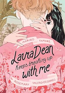 Jacket art for graphic novel Laura Dean Keeps Breaking Up with Me