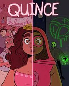 Jacket art of graphic novel Quince