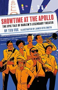 Jacket art for graphic novel Showtime At the Apollo