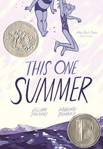 Jacket art for graphic novel This One Summer
