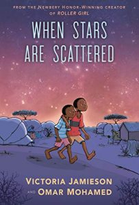 Jacket art for graphic novel When Stars Are Scattered