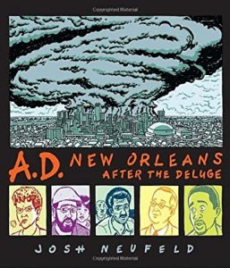 Jacket art for the graphic novel AD New Orleans