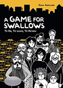 Jacket art for graphic novel A Game for Swallows